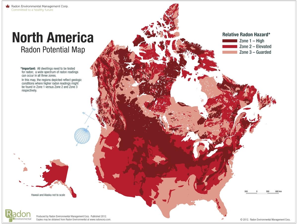 Radon map usa